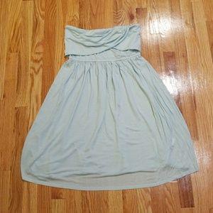 Armani Exchange tube top dress